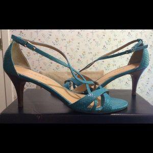 Talbots Lana3e Turquoise Heels